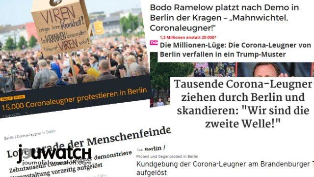 Zwei Wochen nach der Berliner Großdemonstration: Wo bleibt der Massenausbruch? › Jouwatch